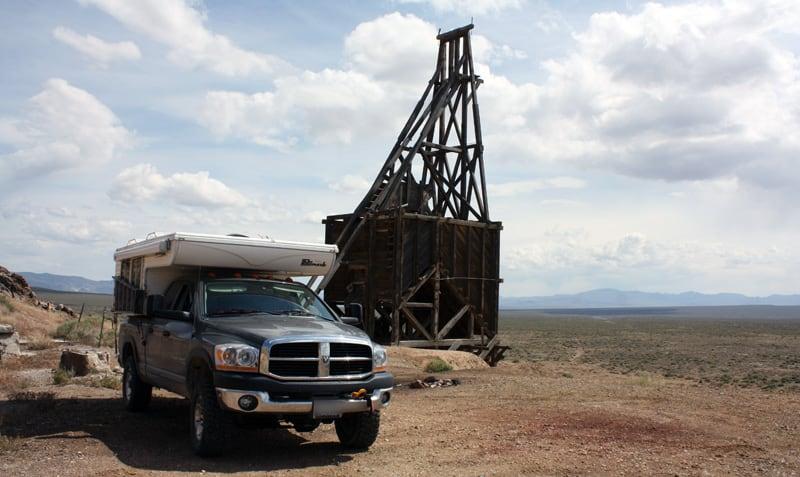Mining Site in Broken Hills Nevada