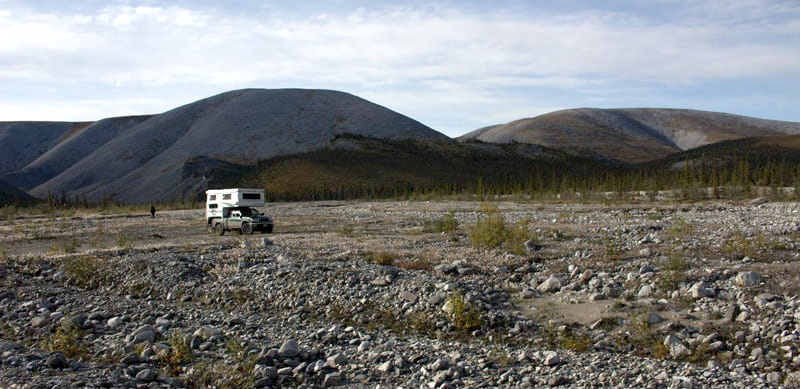Dempster Highway Camping Boondocks