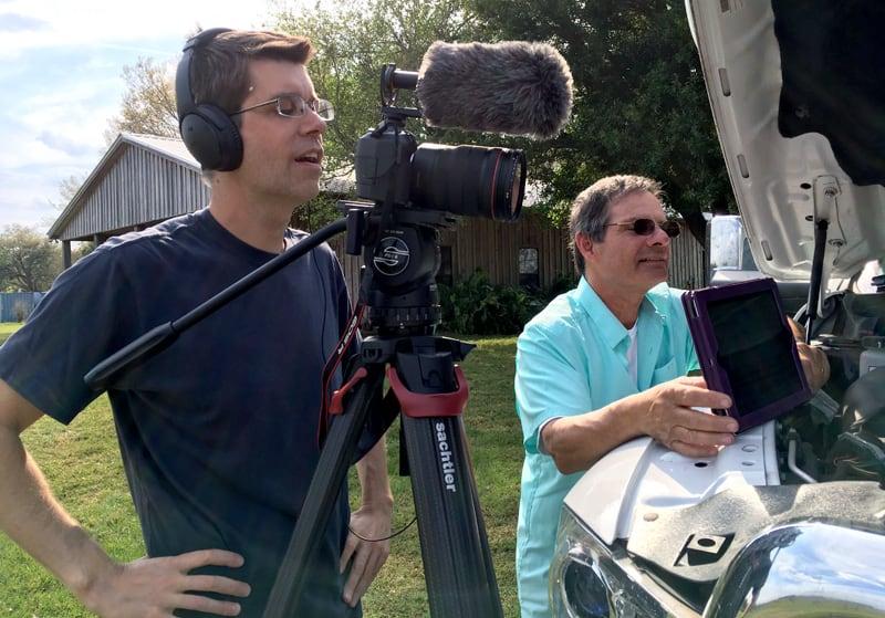 Filming Diesel Versus Gas