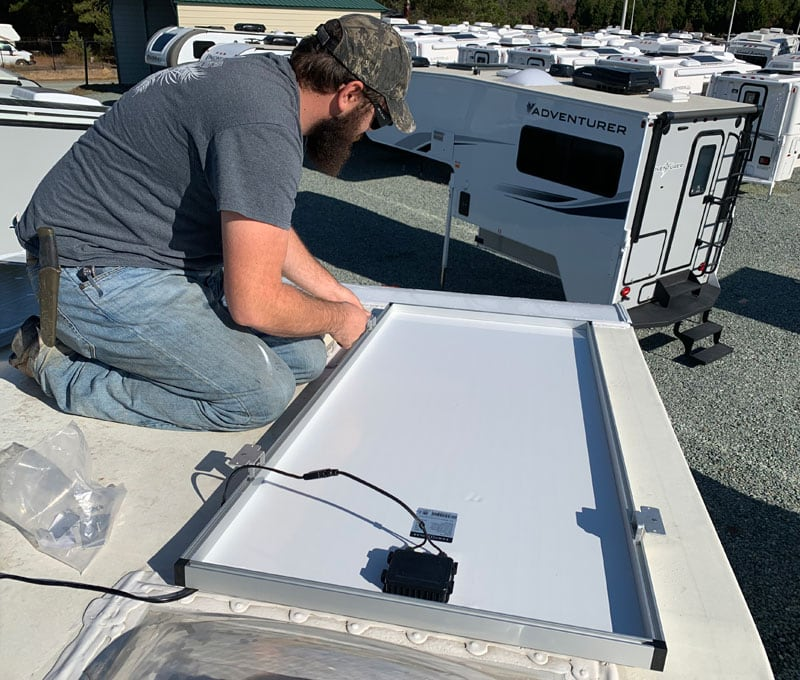 Josh Michels Hooking Up Solar
