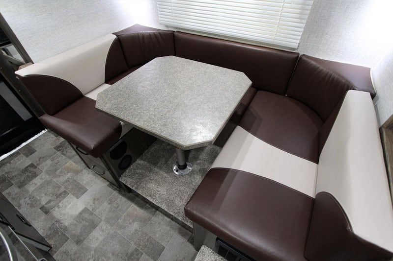 Sportsman Plus U Shaped Dinette Northern Lite