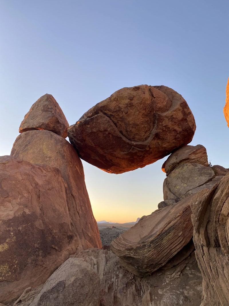 Balanced Rock Big Bend
