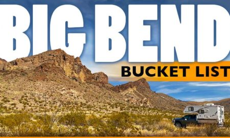 Big Bend Bucket List Texas