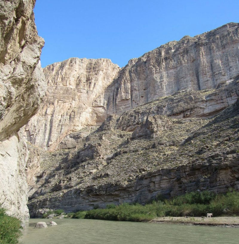 Big Bend NP Boquillas Canyon And The Wild Burros