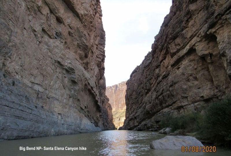 Big Bend National Park Santa Elena Canyon After A 2 mile hike