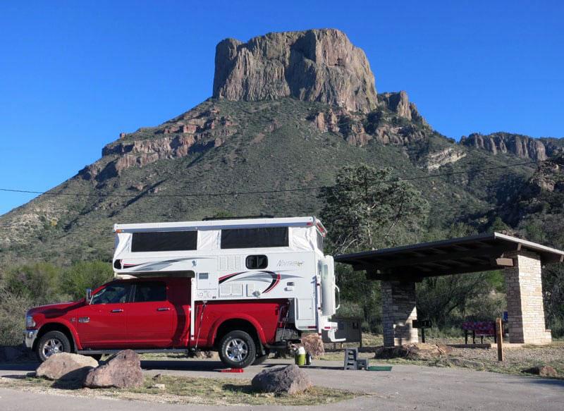 Big Bend Campsite Northstar