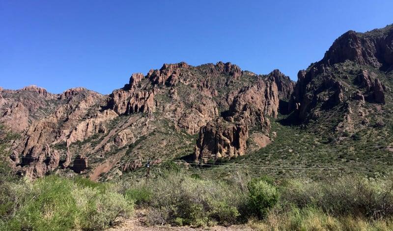 Big Bend Jagged Rocks