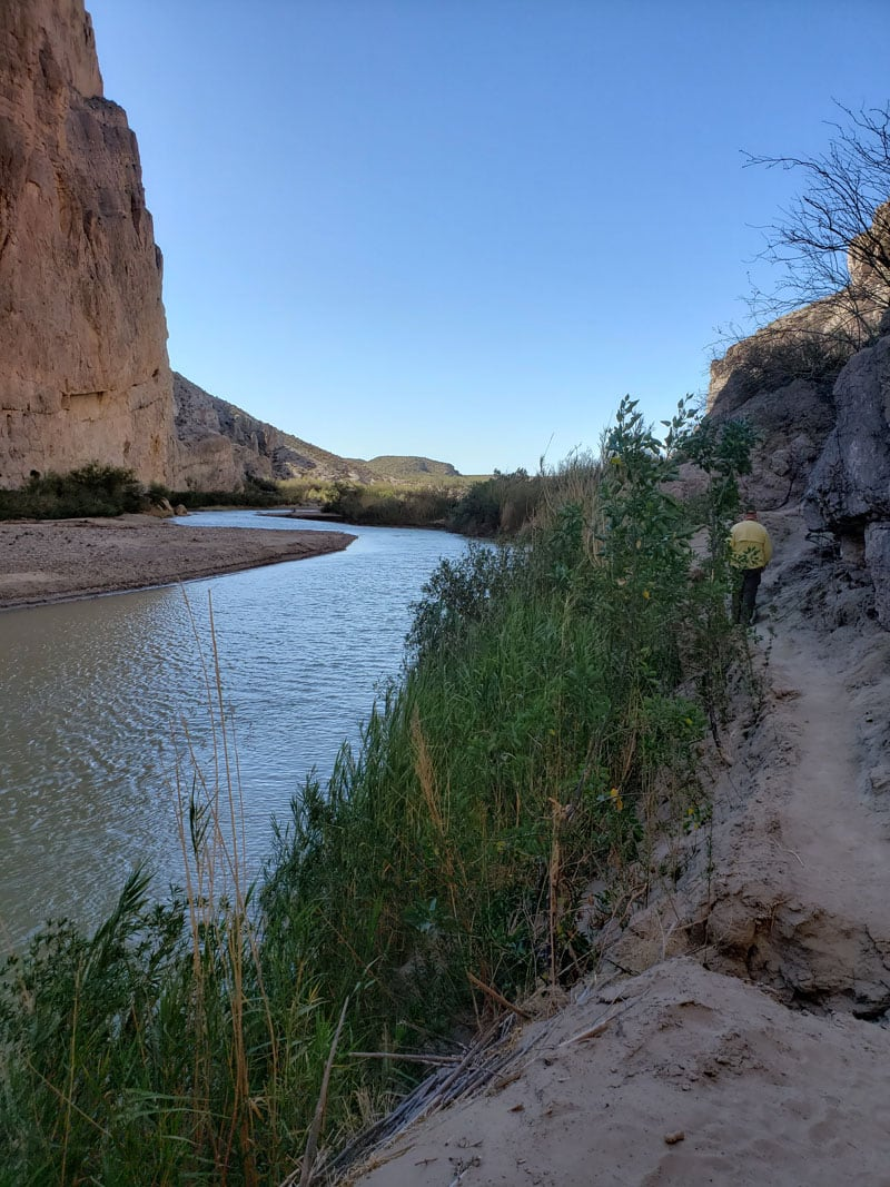 Boquillas Canyon Trail In The Morning