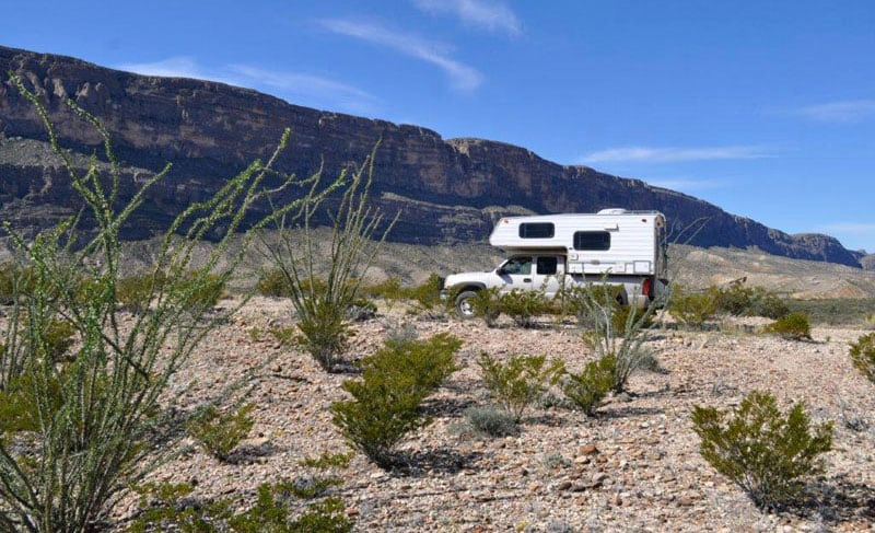 Camping In Big Bend