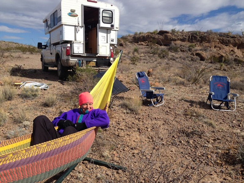 Guale Campground Relaxing Big Bend