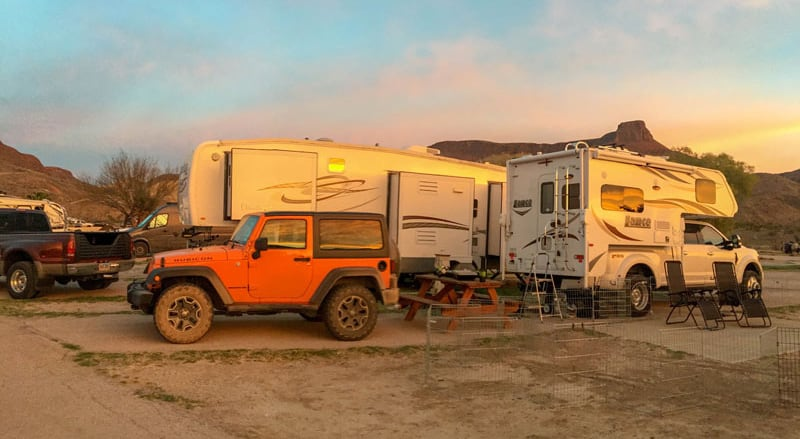 Maverick Ranch RV Park Lajitas Texas