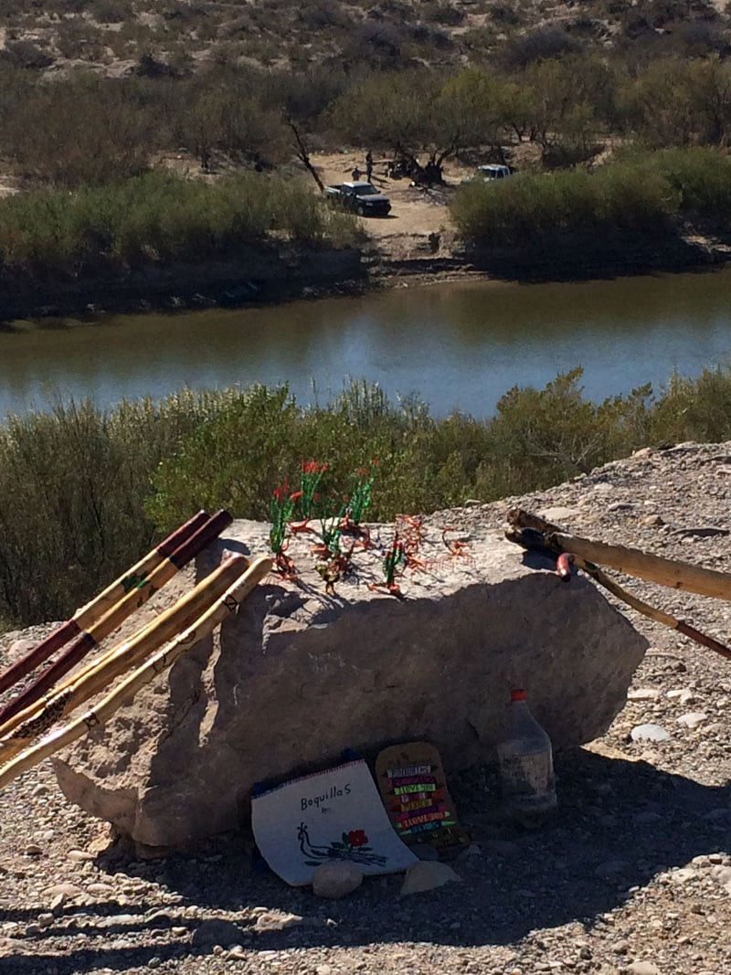 Mexican Trinkets In Big Bend