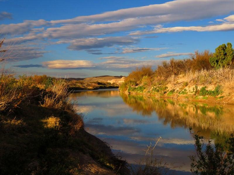 National Park Big Bend River Road