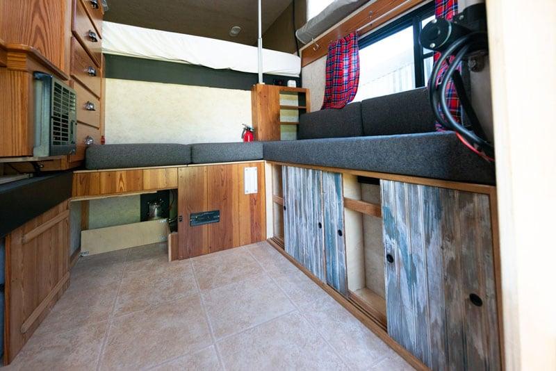 Pantry Below Bench Seat