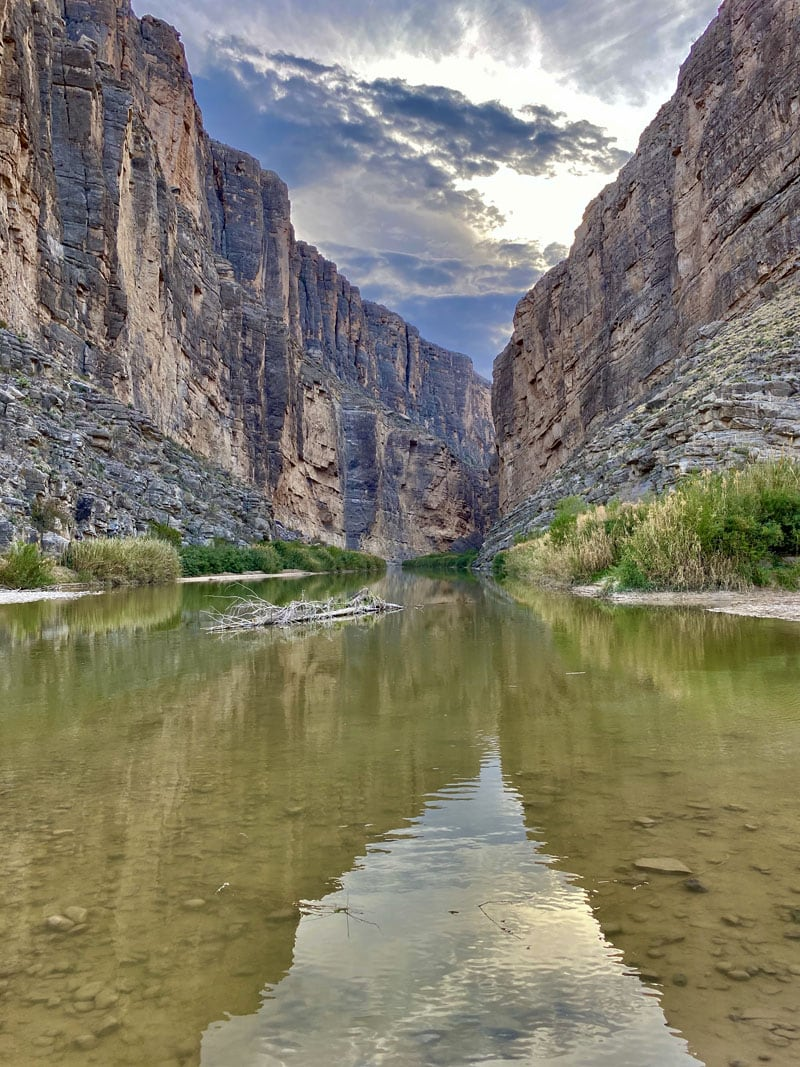 Reflections In The Water Big Bend