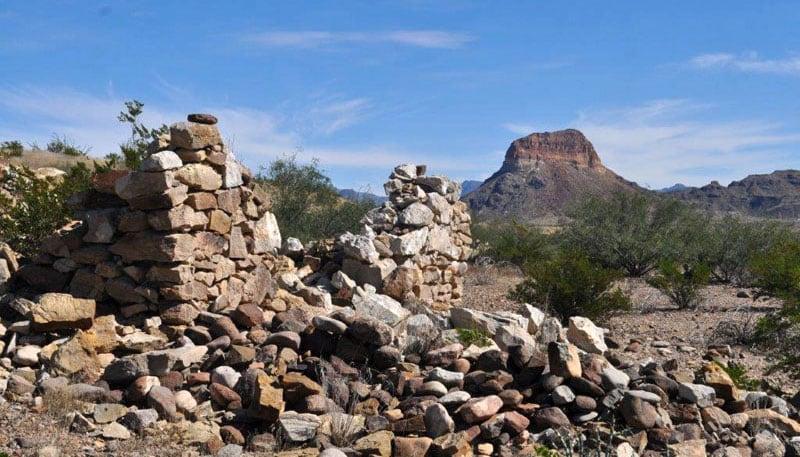 Rock Structures In Big Bend