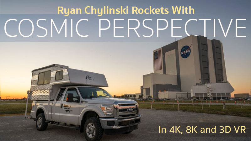 Ryan Chylinski and Cosmic Perspective create stunning launch videos