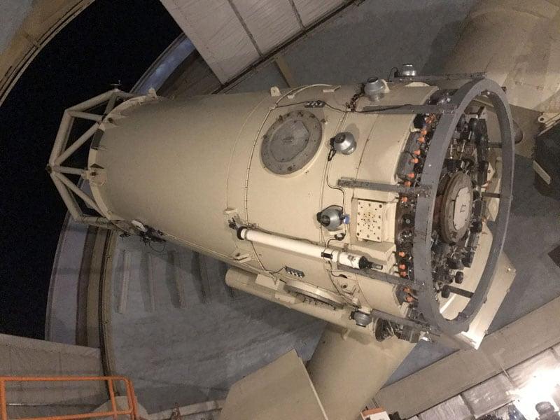 Telescope At McDonald Observatory