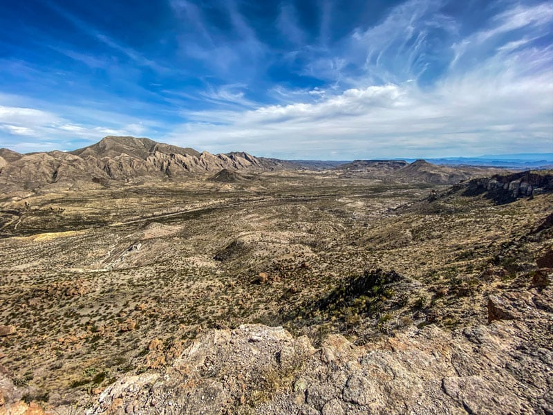 The Flatirons Of The Solitario Big Bend Ranch State Park