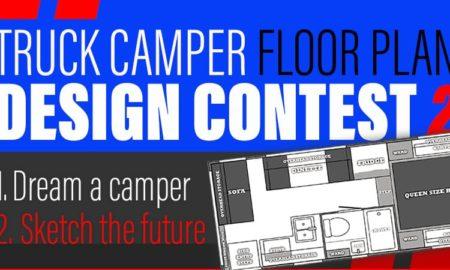 Truck Camper Floor Plan Design Contest 2020