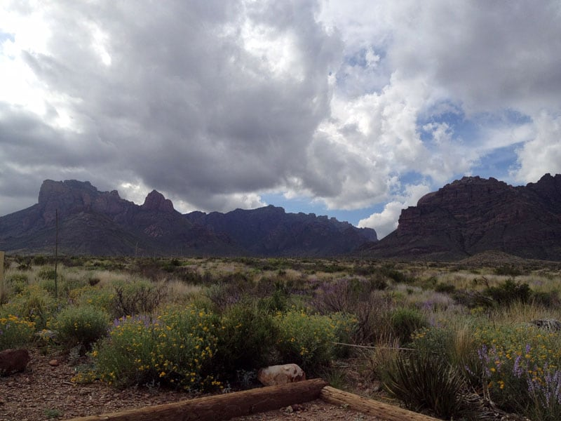 View From Our Campsite