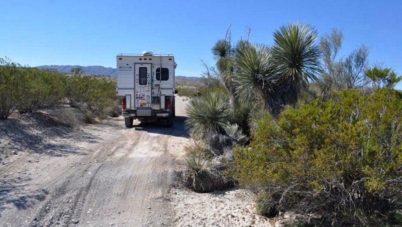 Dirt Roads Big Bend Camper Best