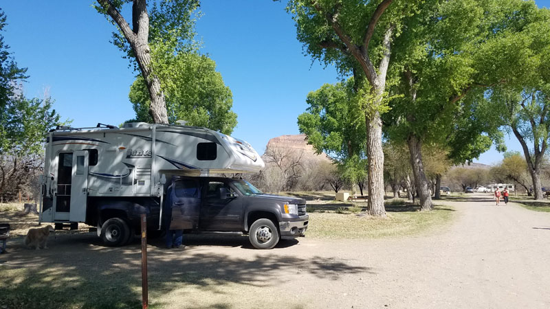 Site At Cottonwood Campground Big Bend