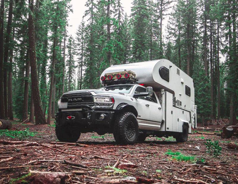 Cirrus ultimate overland truck camper rig