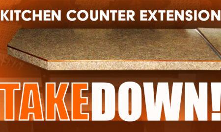 Camper Kitchen Counter Extension