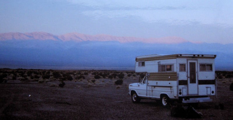 Camping-in-Panamint-Valley