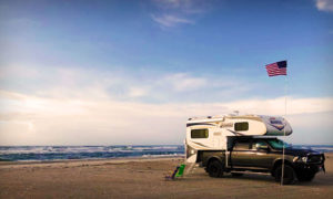 Cape Lookout National Seashore with a Lance Camper