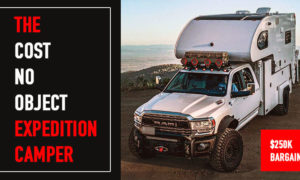 Cost no object expedition truck camper
