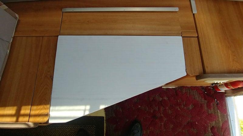 Dinette Bed Foam To Make Smaller Bed
