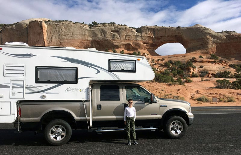 First Trip South Of Moab