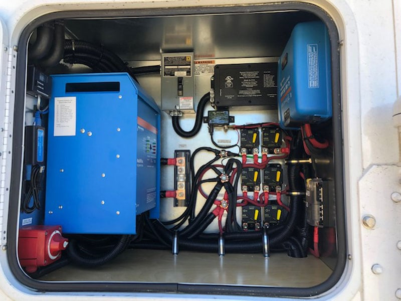 Generator Compartment With Inverter