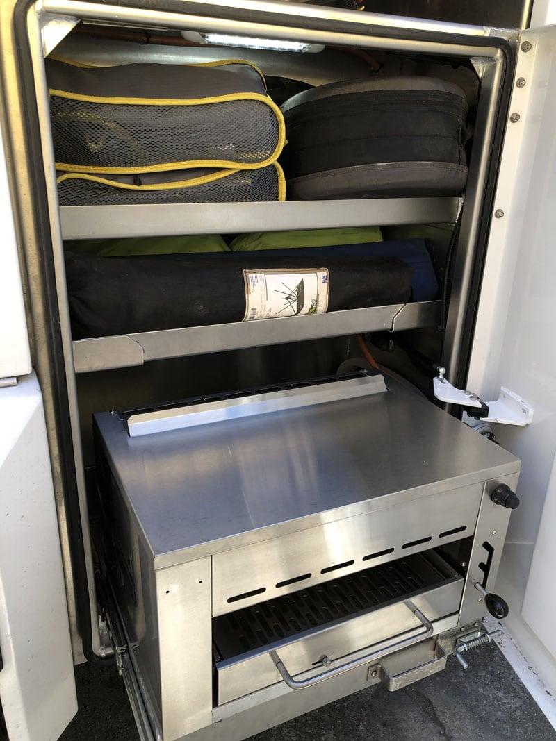 Grill Compartment
