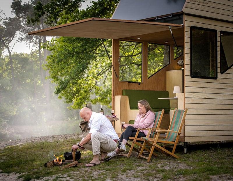 Haaks Camper Rear Hatch Open Cooking