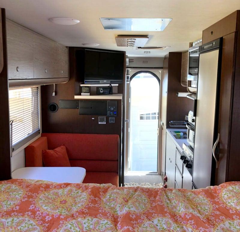 Inside Avi Camper Front To Back