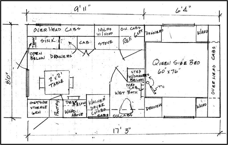 JW Boyd 911 Wash Dry Floor Plan