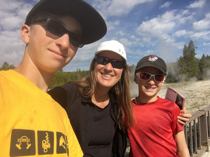 My Fabulous Kids At Yellowstone