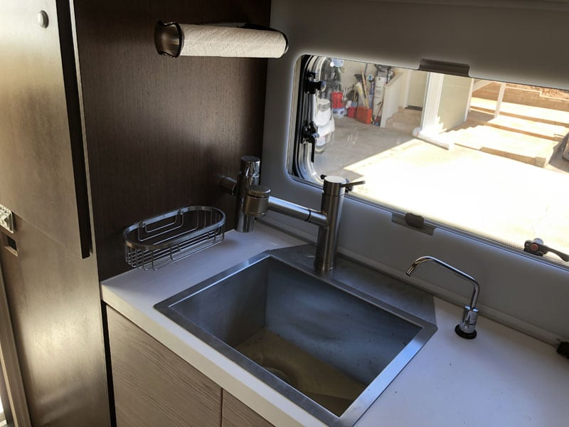 New Sink And Water Filtration