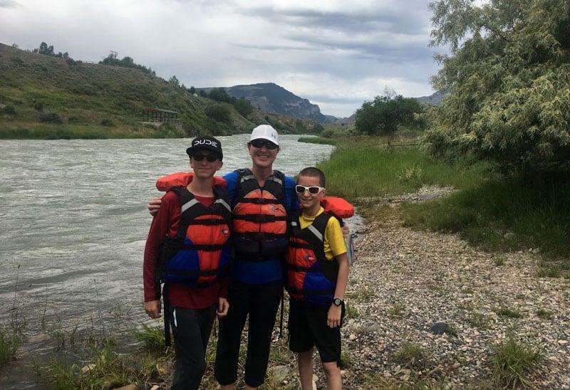 River Rafting Near Cody WY