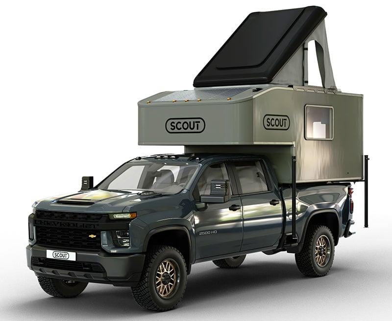 Scout Kenai Truck Camper