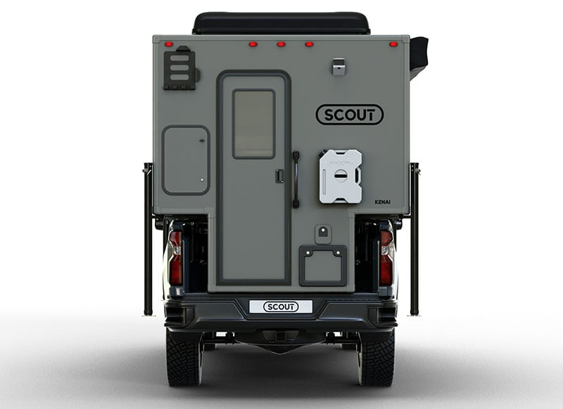 Scout-Kenai Camper Rear Profile