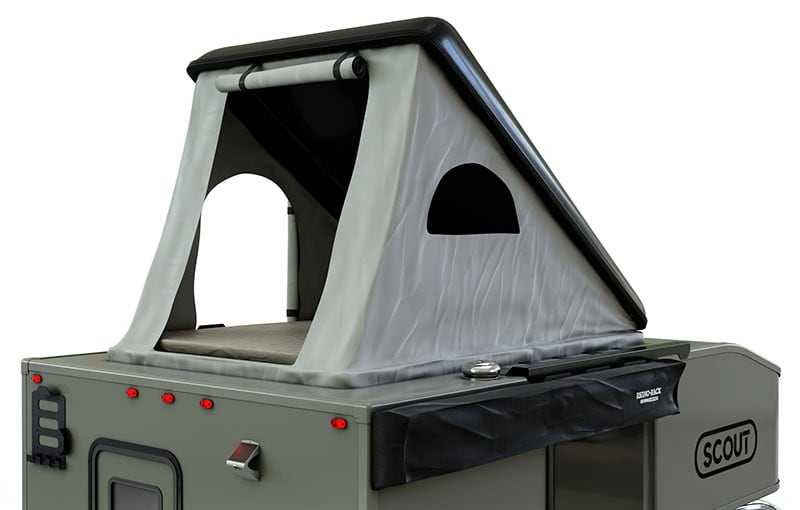 Roof Top Tent Option on Scout Kenai
