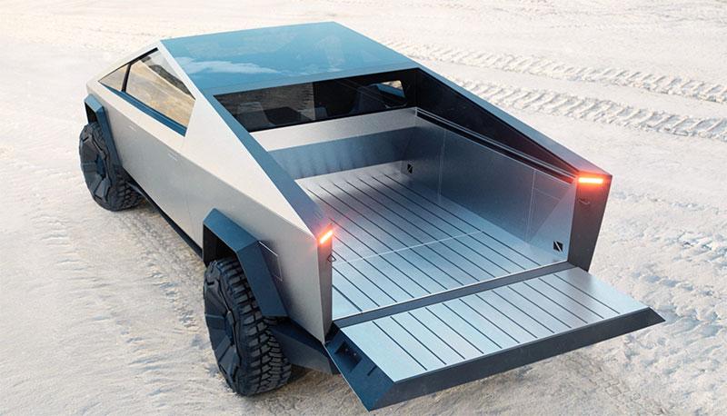 Tesla Cybertruck bed