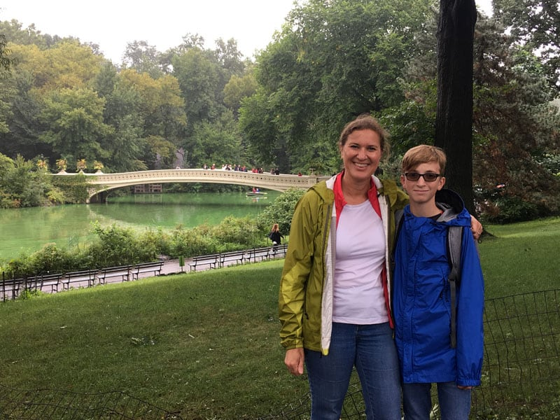 Touring New York's Central Park When We Traveled To New Jersey To Pick Up My Camper