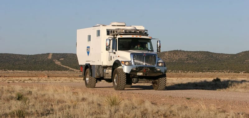 Truck Camper Versus UNICAT