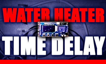 Water heater time delay for RVs