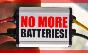 No more RV batteries for keyless electric RV locks